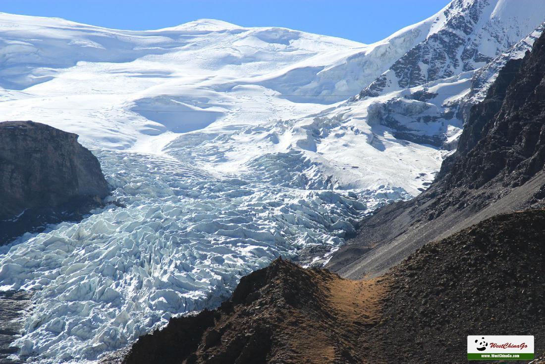 Karo-La Glacier