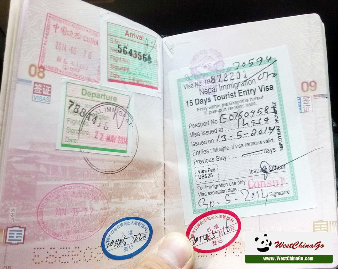 Tibet Permit,visa