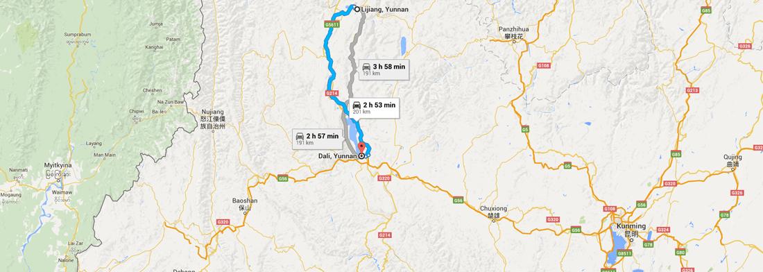 china google maps