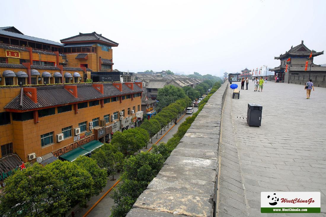 XiAn City Wall tour