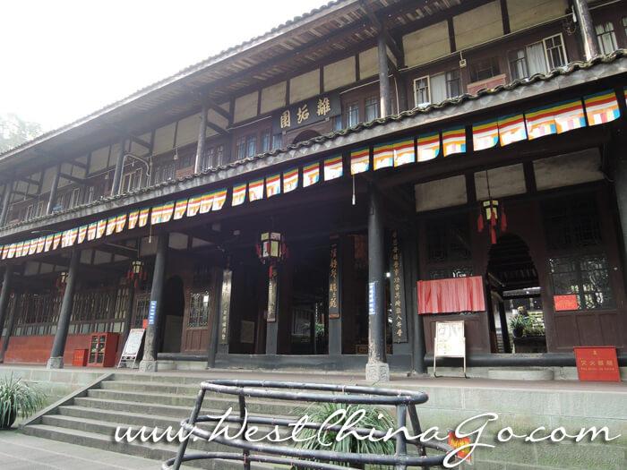 mount emei FuHu Temple