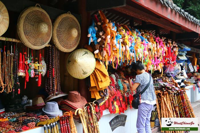 mount emei QingYing FuHu Temple
