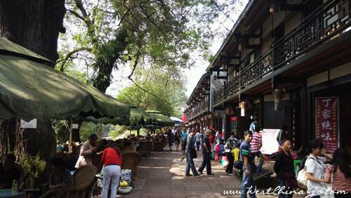 ya'an shangli old town