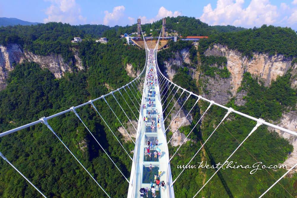 zhangjiajie Tour-glass bridge