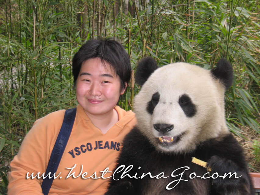 chengdu tour guide:lily