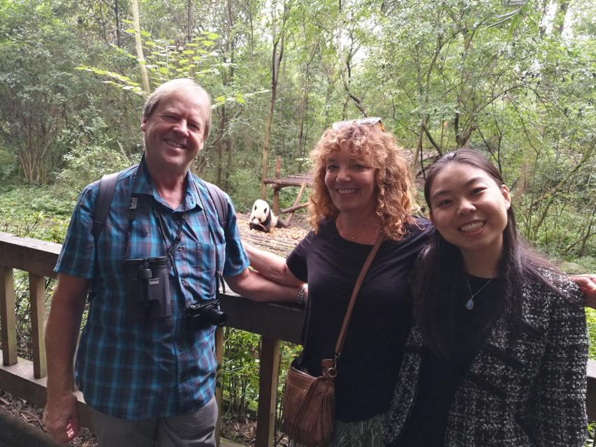 chengdu tour guide:cassie