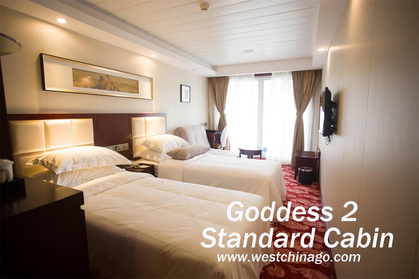 Goddess 2 standard cabin