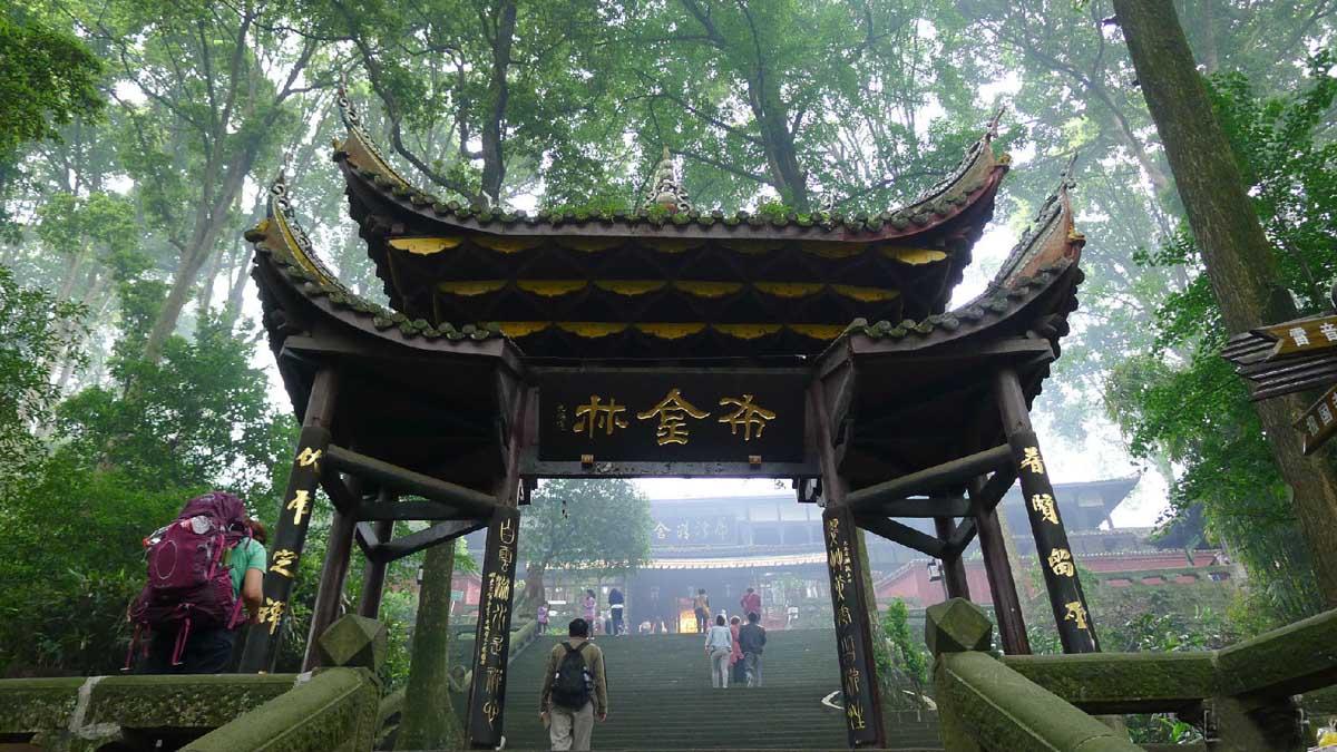 Mount Emeishan FuHu Temple