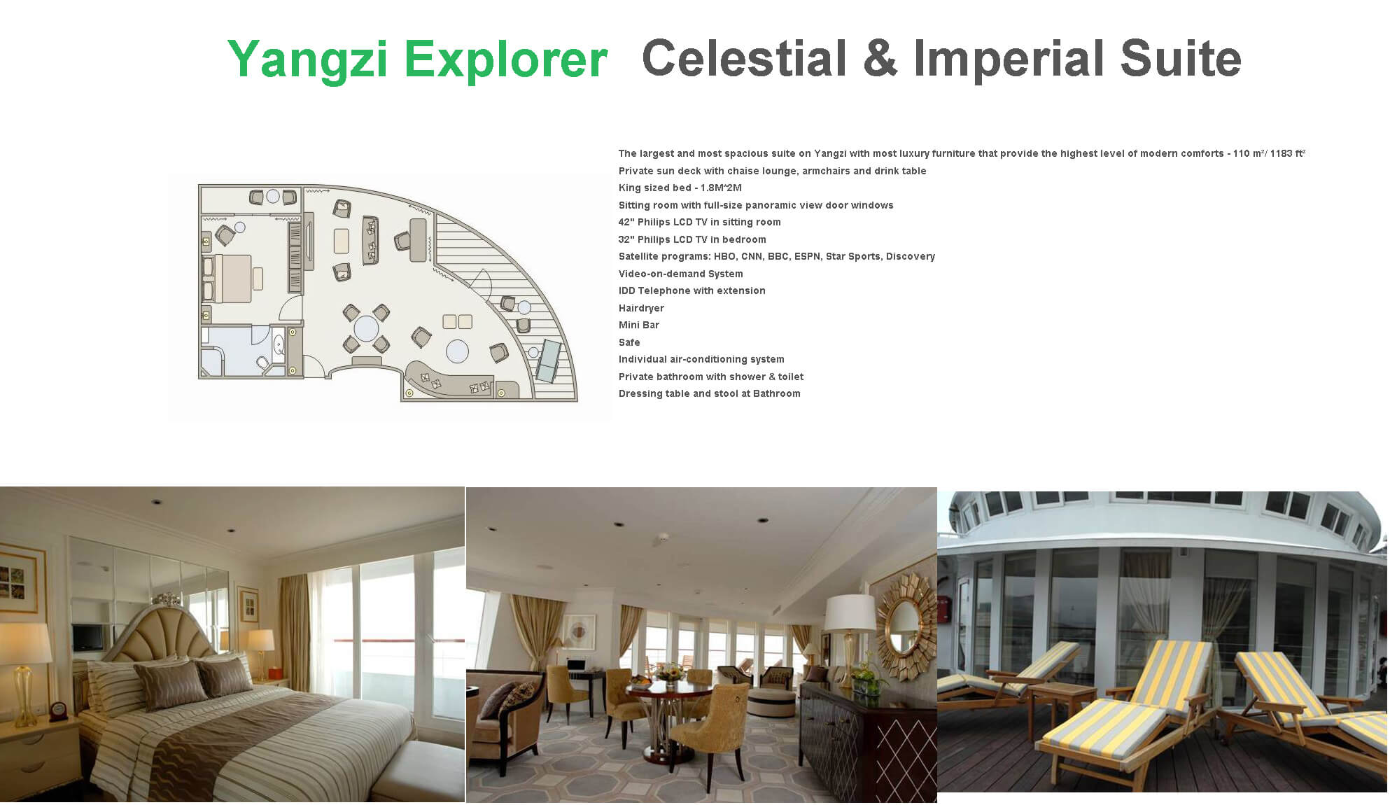 Yangzi Explorer cabin-Yangtze River Cruise