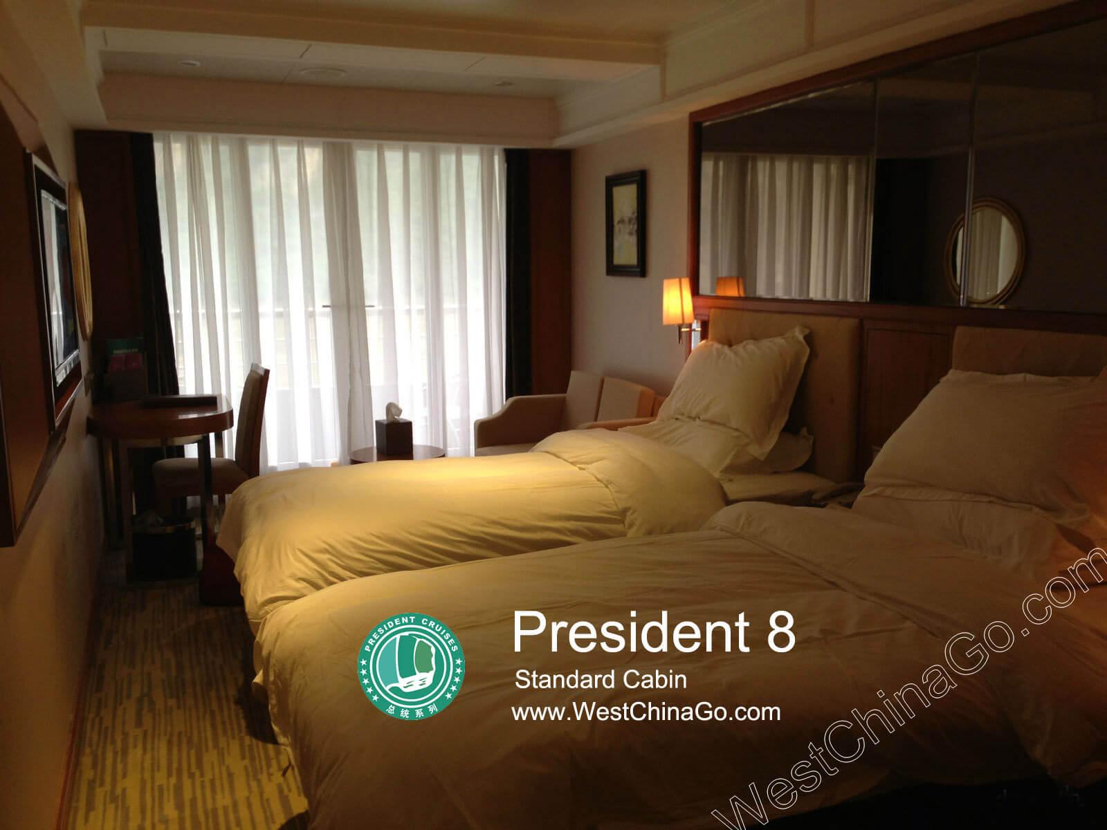 president 8 standard cabin