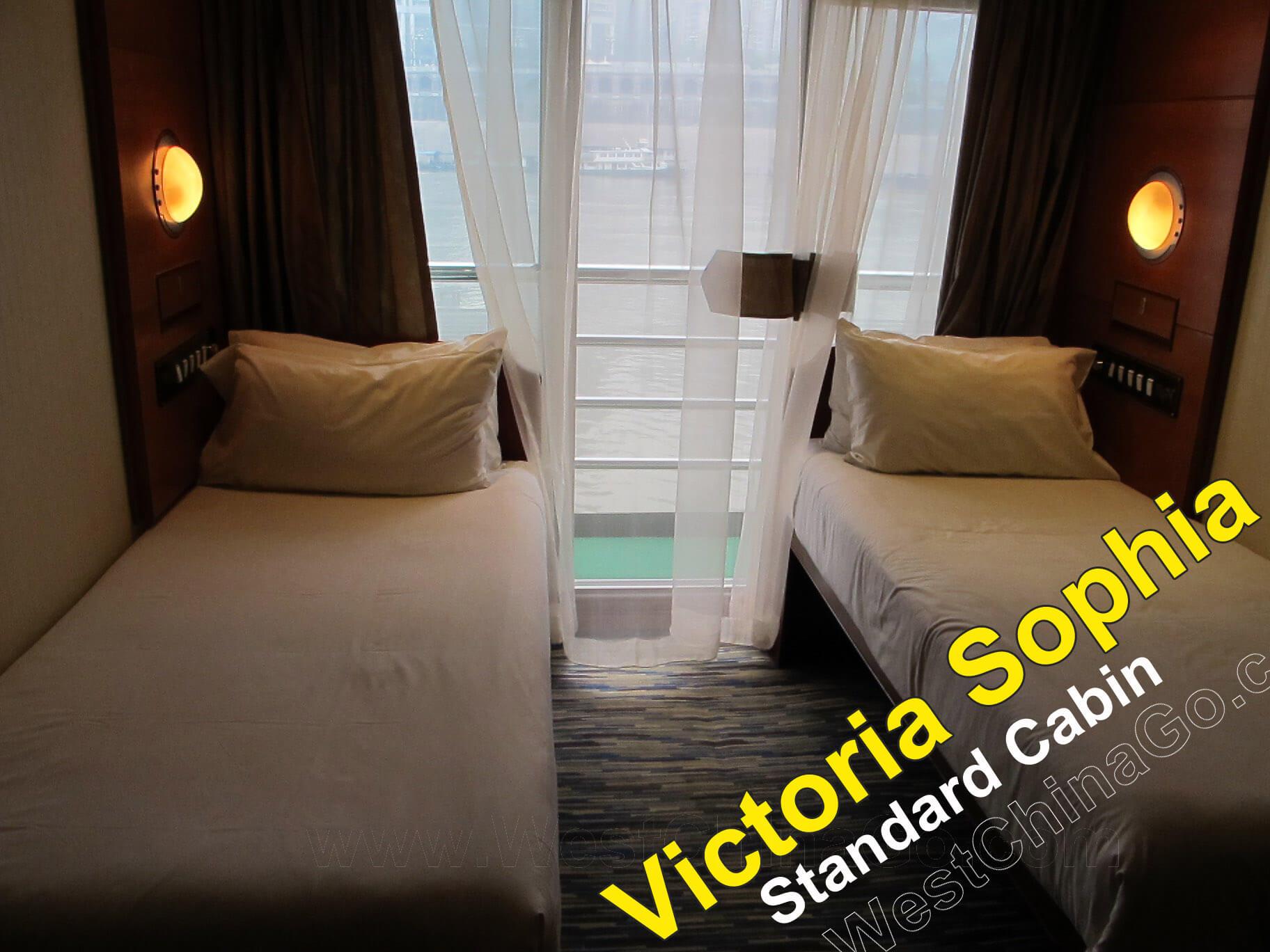 Victoria Sophia standard cabin