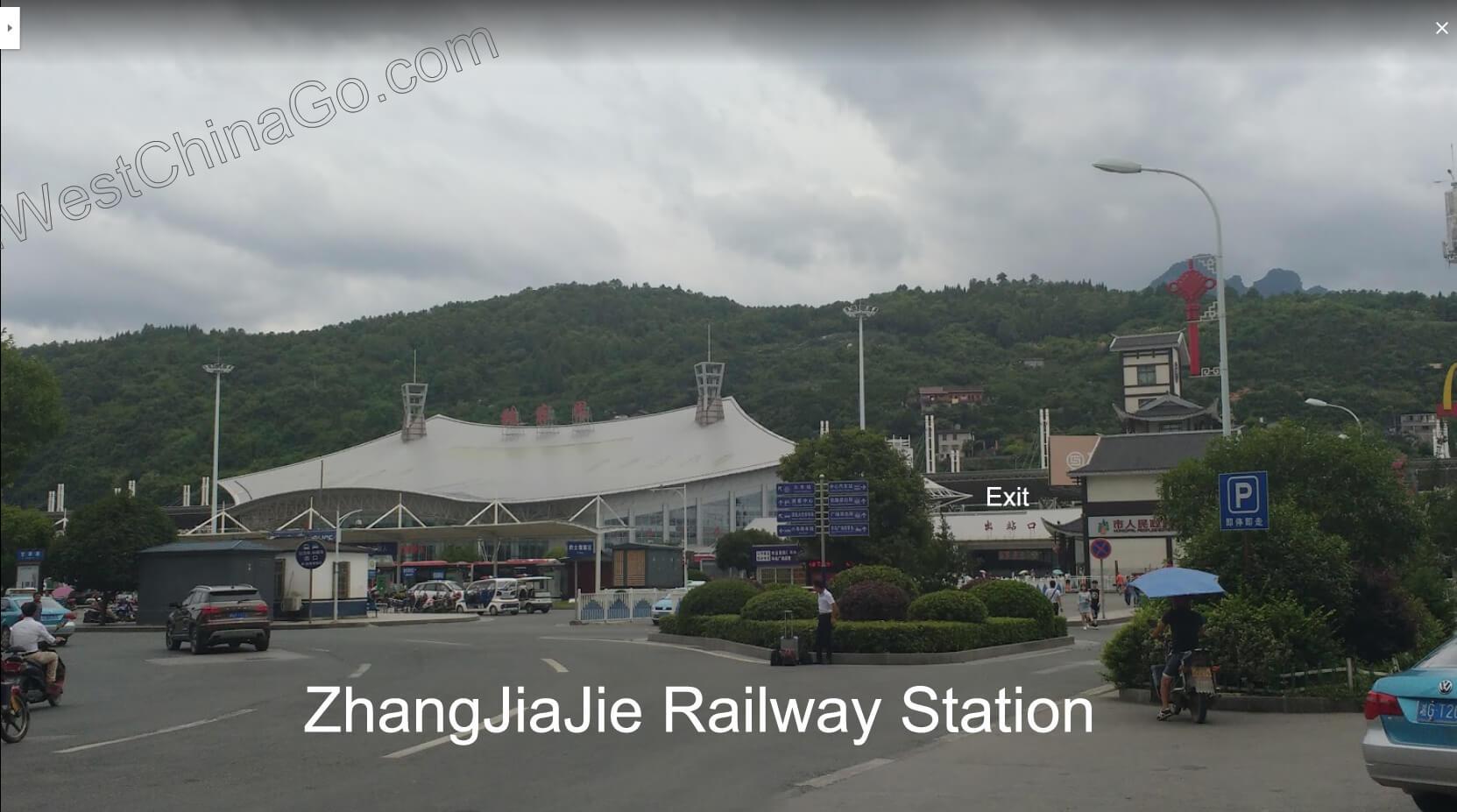 zhangjiajie railway station