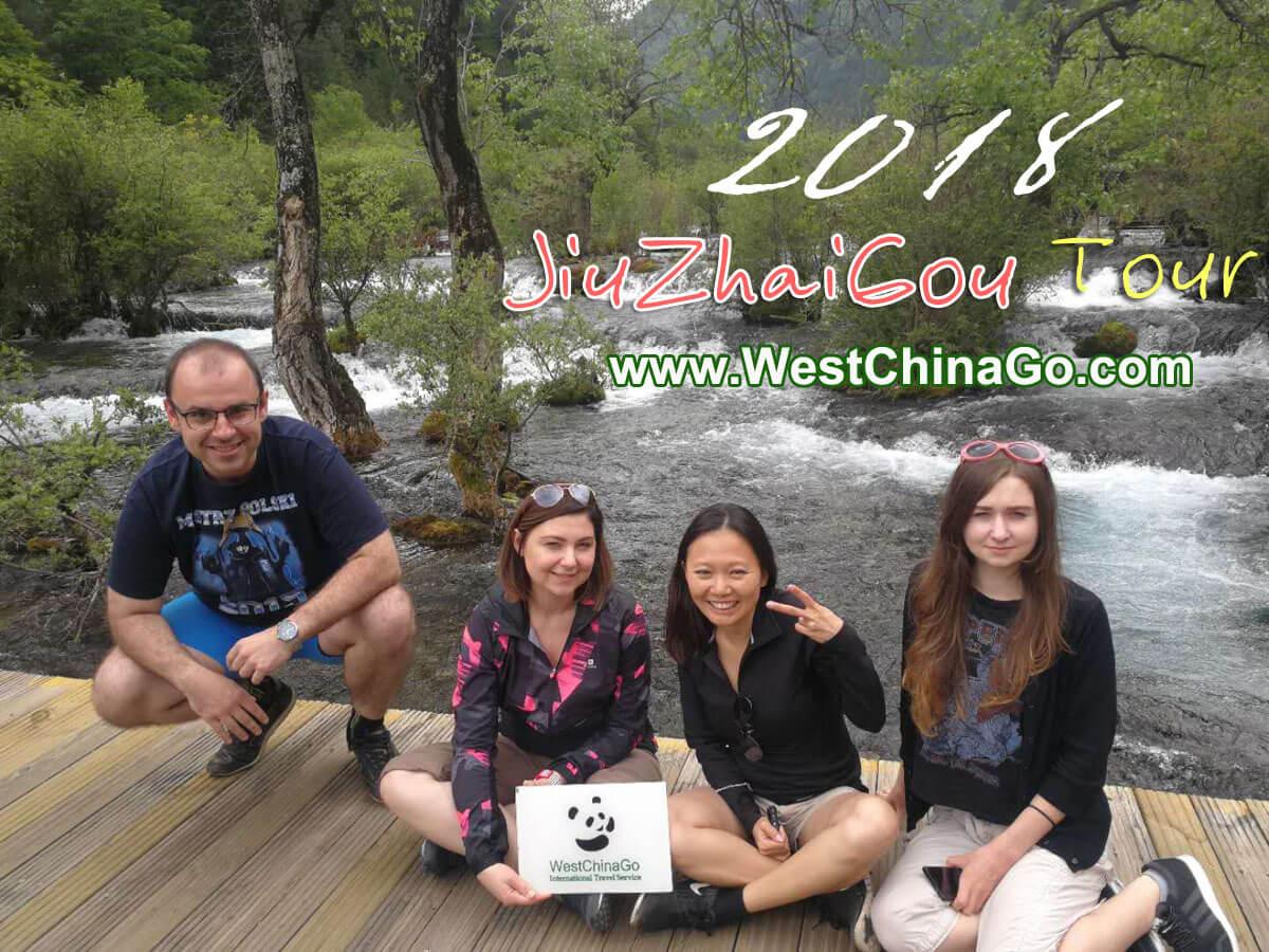 2018 chengdu jiuzhaigou tour
