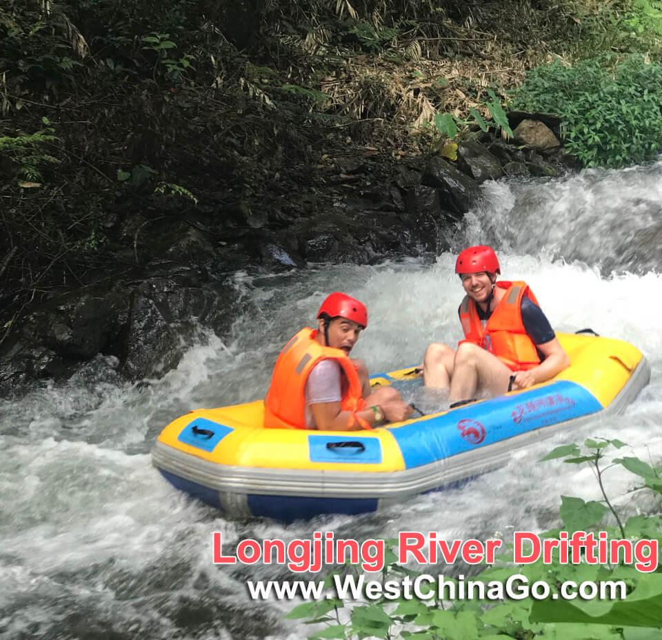 The Longjing River Drift Tour in Yangshuo