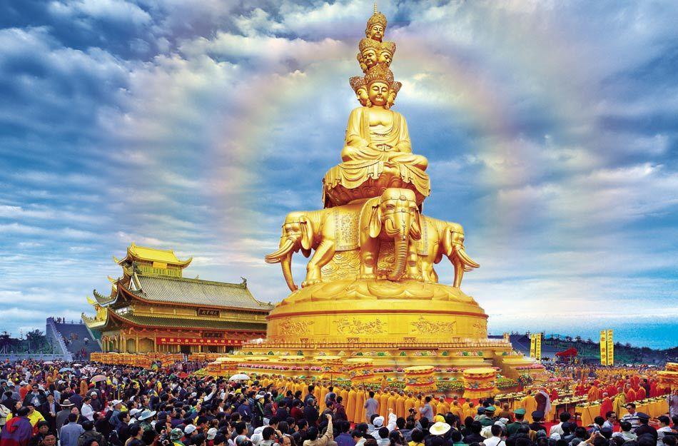 Mount Emeishan Golden Summit