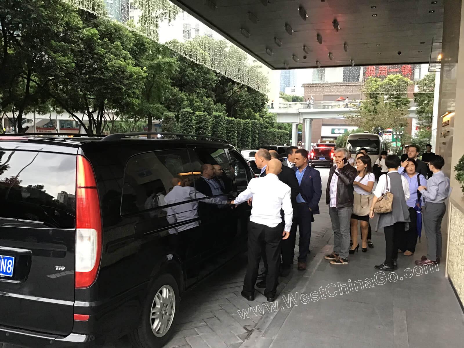 Turkey Minister of Transport ChengDu Tour