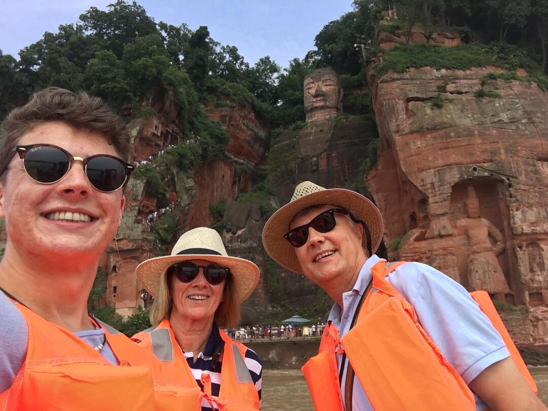 China ChengDu LeShan Giant Buddha Tour
