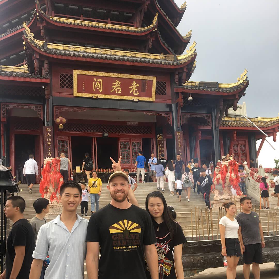 dujiangyan mountan qingcheng tour