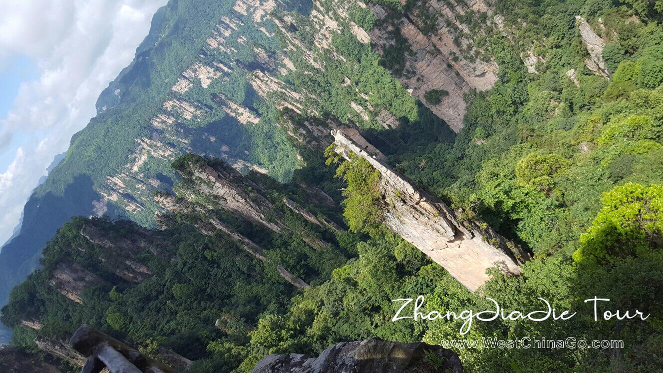 zhangjiajie mount tianzi tour