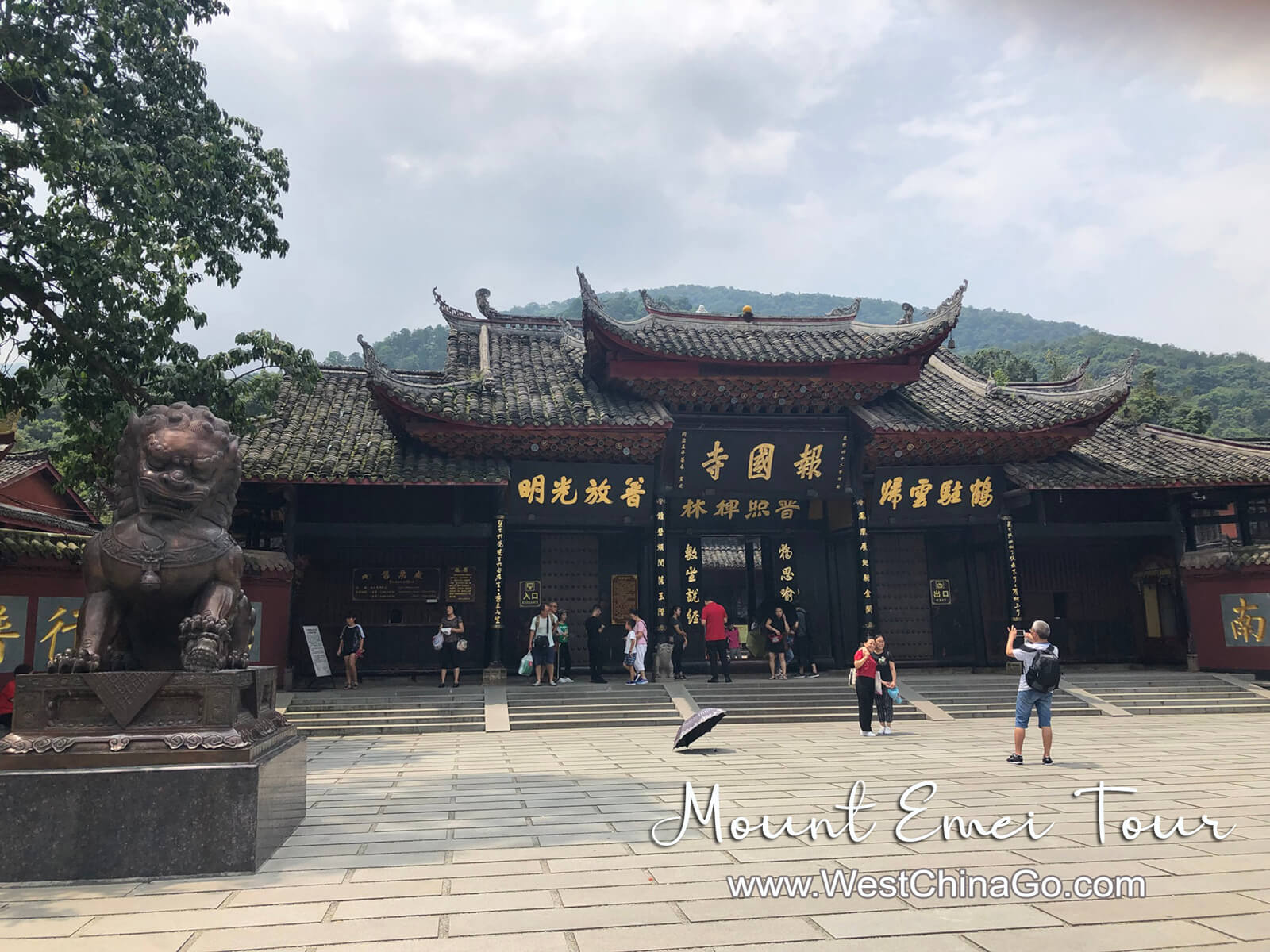 chengdu mount emei tour
