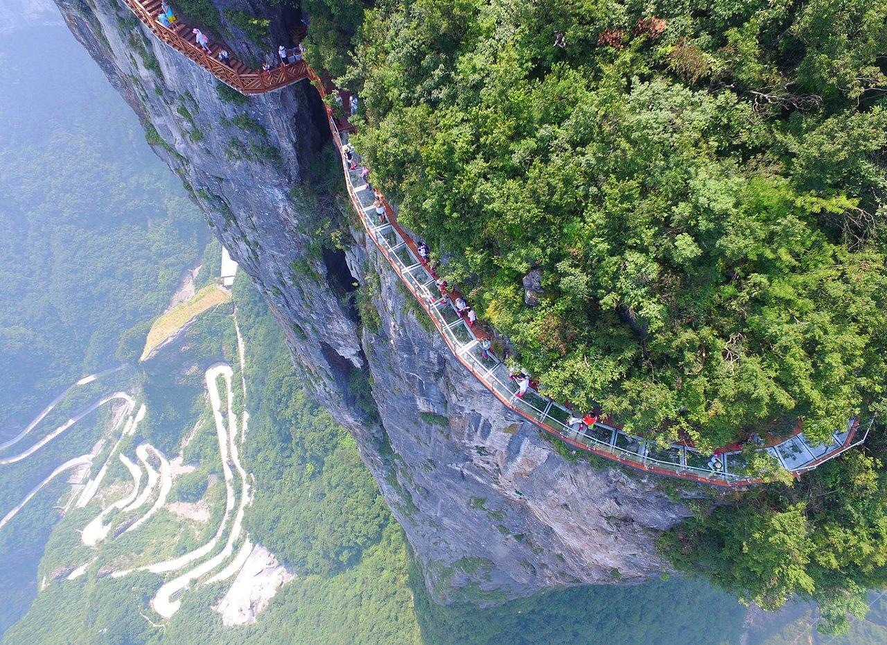Mount tianmen tour