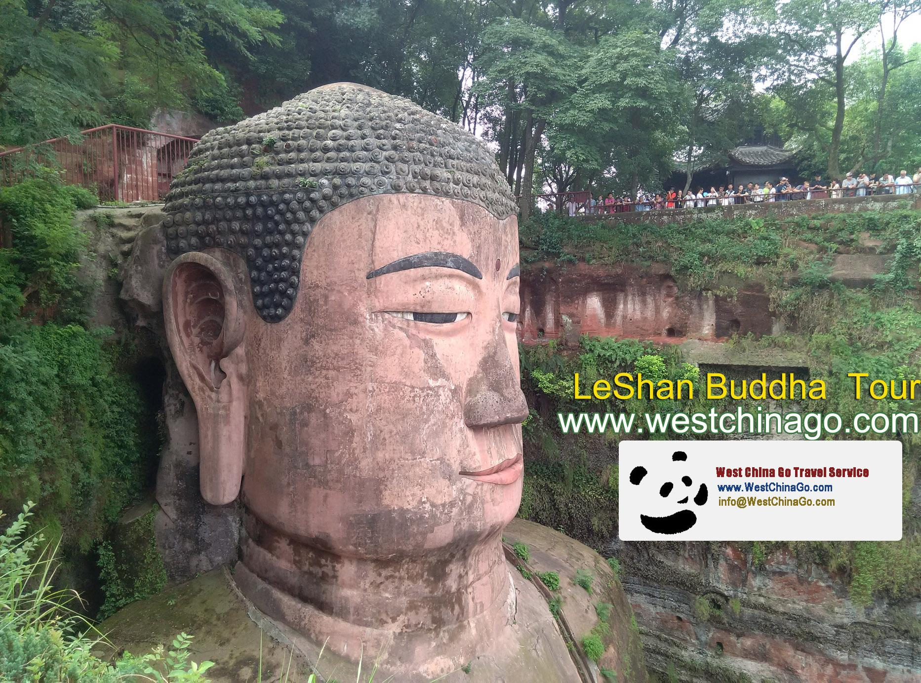 China Leshan Giant Buddha