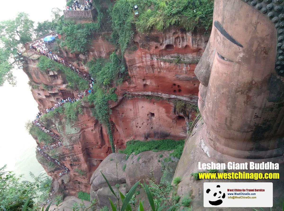 China Leshan Giant Buddha