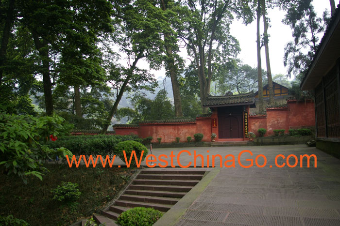 mount emei QingYing Pavilion