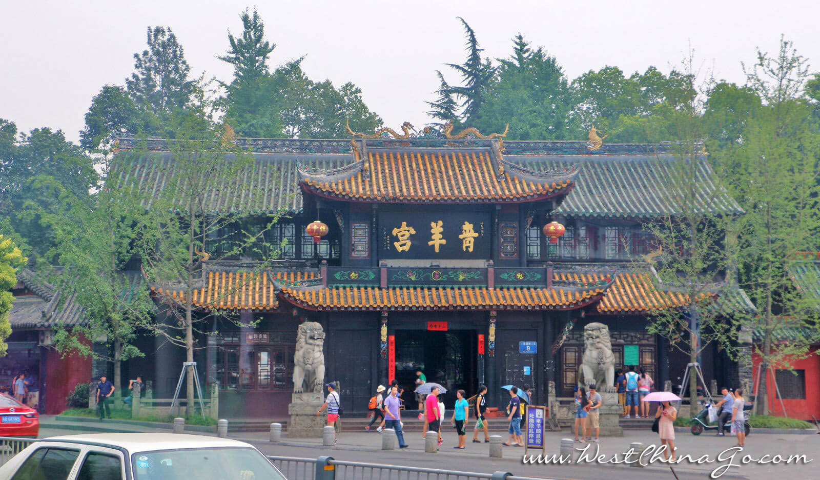 chengdu Qingyang Taoist Shrine