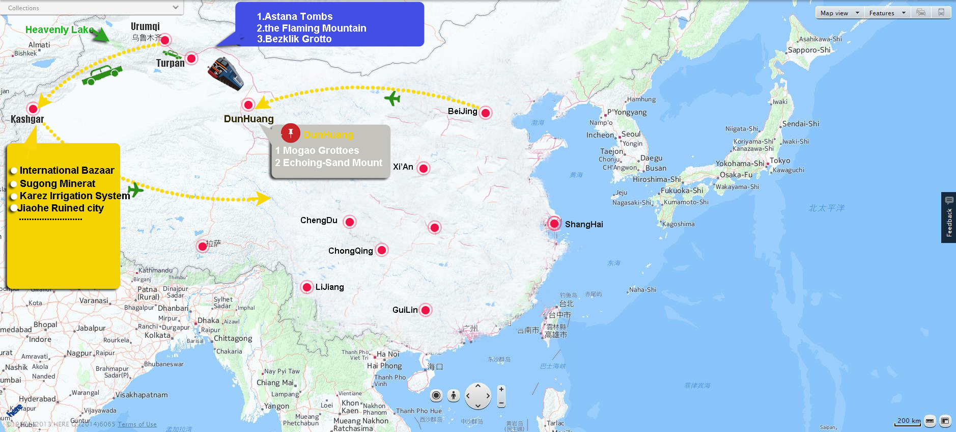 china silk road tour package