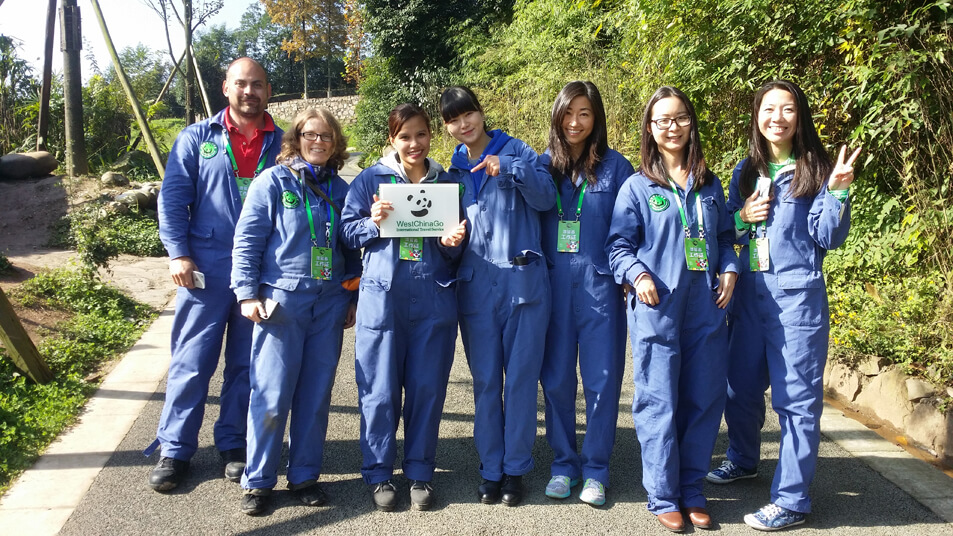 2018 chengdu panda volunteer