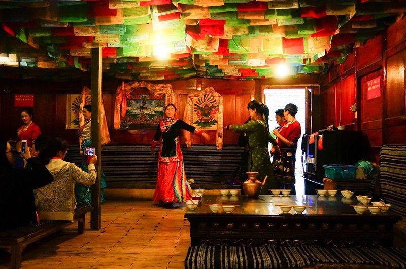 jiuzhaigou tibet family visit