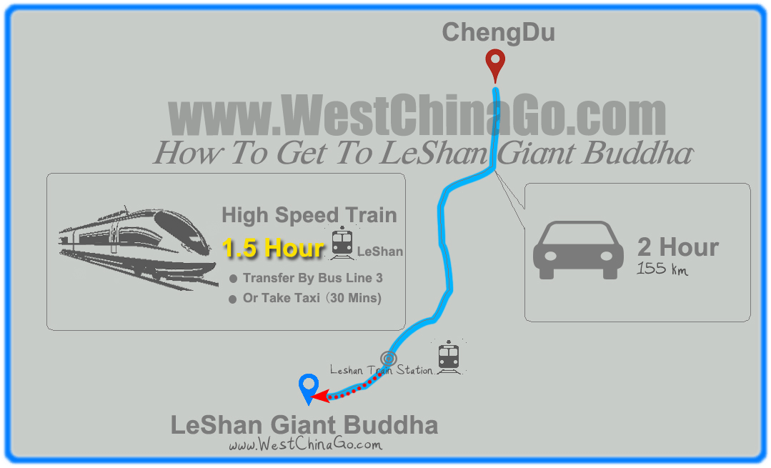 chengdu tour map