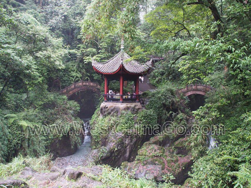 QingYing Pavilion