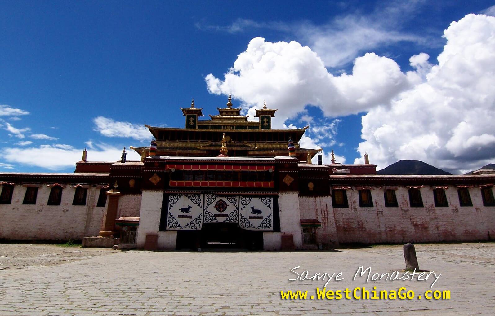 Tibet Lhasa Samye Monastery-china