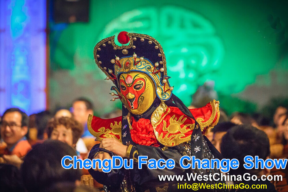 ChengDu Face Changing Show