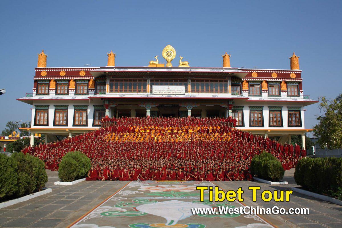 Tibet Lhasa Drepung Monastery