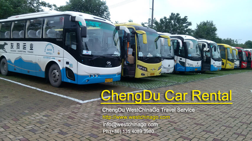 Chengdu Car Rental with driver