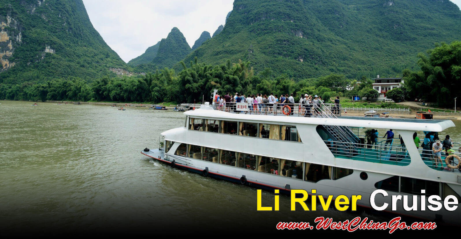guilin tour-li river cruise