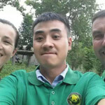 chengdu tour guide: sidney
