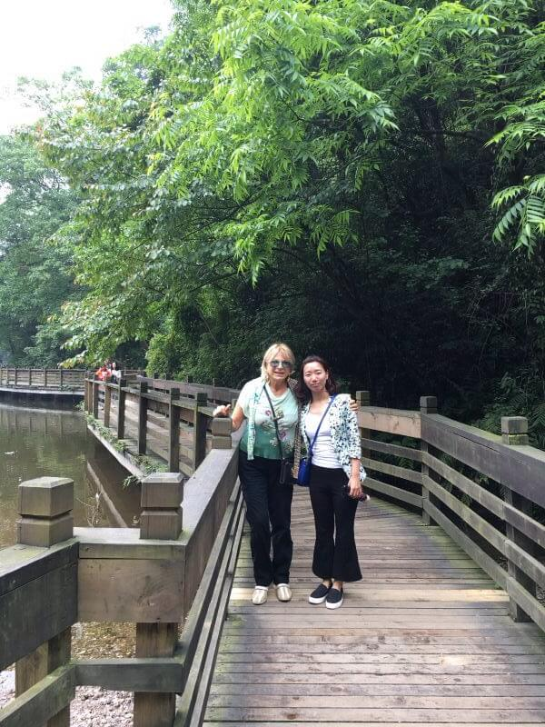 chengdu tour guide:susan