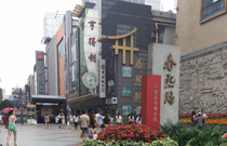 chengdu tour attractions-ChunXi shopping Road