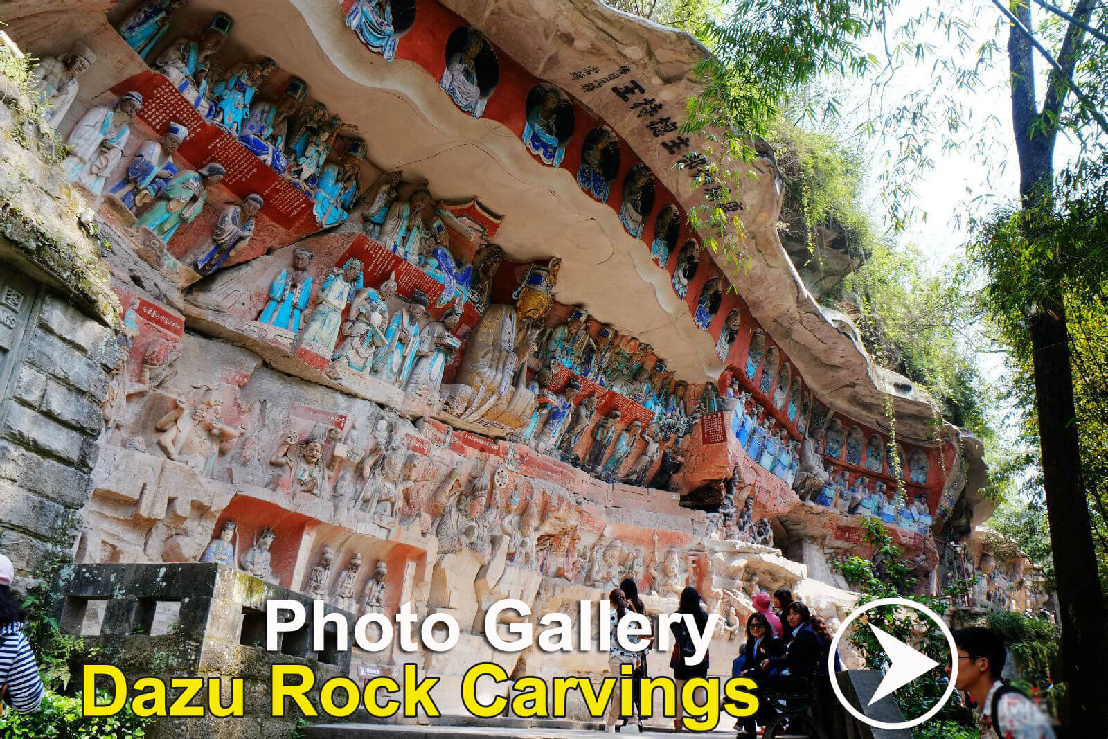 ChongQing Tour Attractions--DaZu Rock Carving