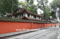 chengdu tour attractions- WenShu Temple