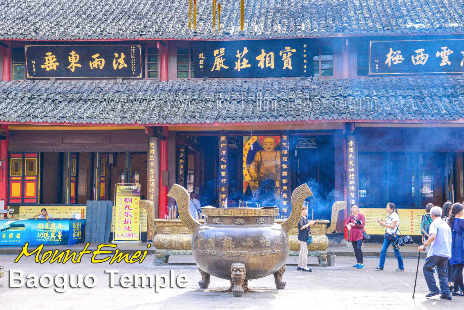 All inclusive 2-Day Panda+Buddha+Mount Emei Tour plus temple stay experience
