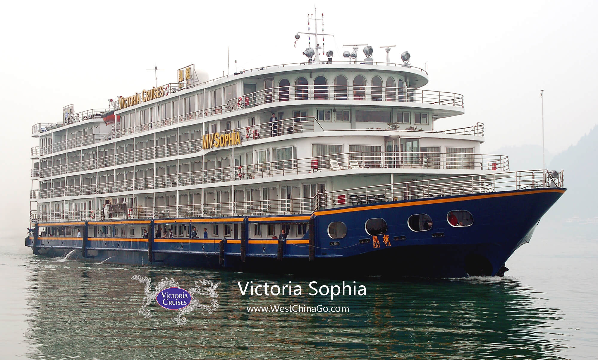 china yangtze river cruise --Victoria Cruise Itinerary and timeline