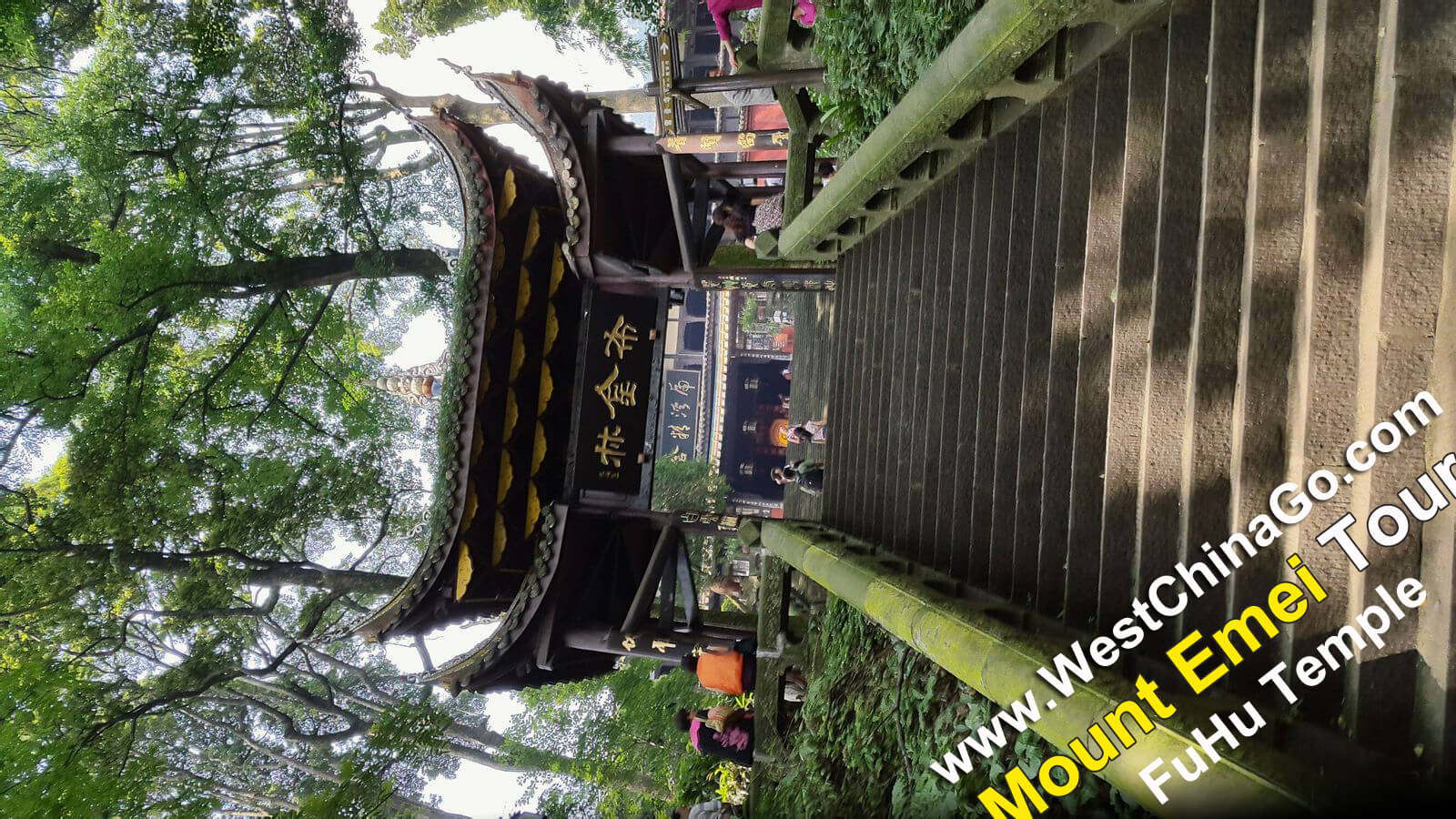 mount emei FuHu Temple