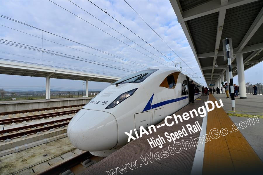 xian chengdu high speed rail