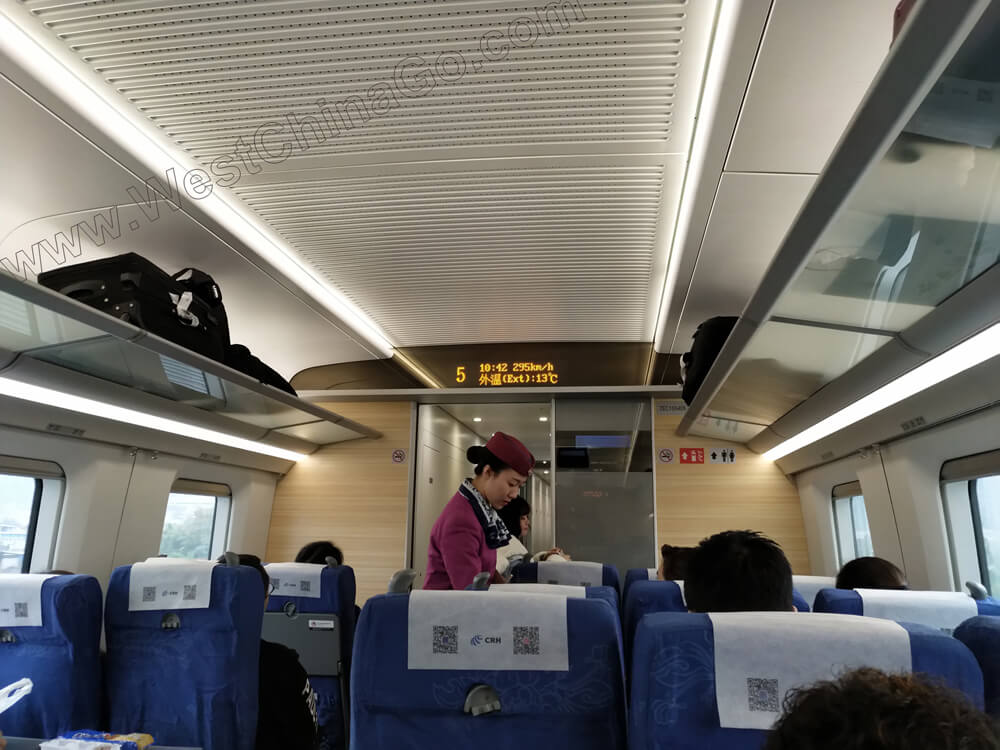high-speed Rail between Xi'an-Chengdu