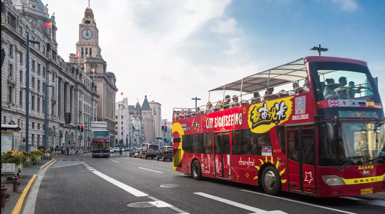 shanghai sightseeing tour bus